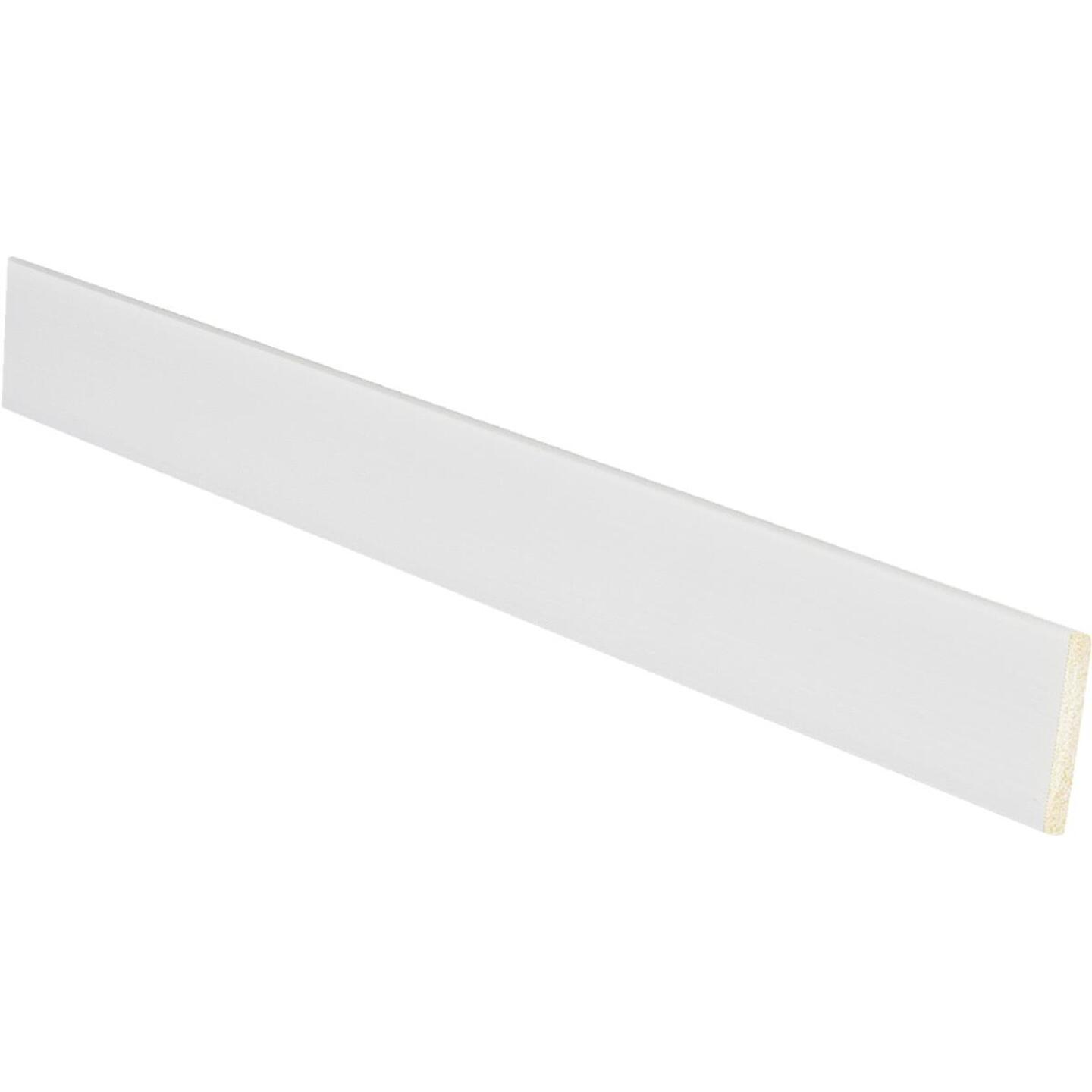 Inteplast Building Products 1/8 In. W. x 1-1/8 In. H. x 8 Ft. L. Crystal White Polystyrene Lattice Molding Image 1