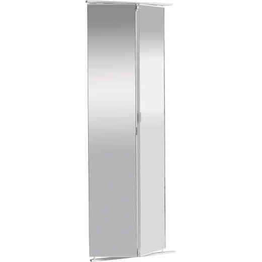 Colonial Elegance 36 In. W x 80-1/2 In. Frameless Mirrored Bifold Door