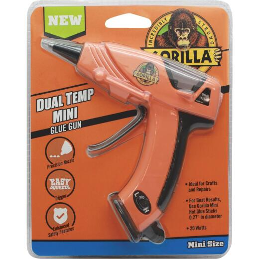 Gorilla Dual-Temperature Mini Glue Gun