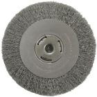 Weiler Vortec 8 In. Crimped Bench Grinder Wire Wheel Image 1