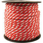Do it 5/8 In. x 150 Ft. Red & White Derby Polypropylene Rope Image 1