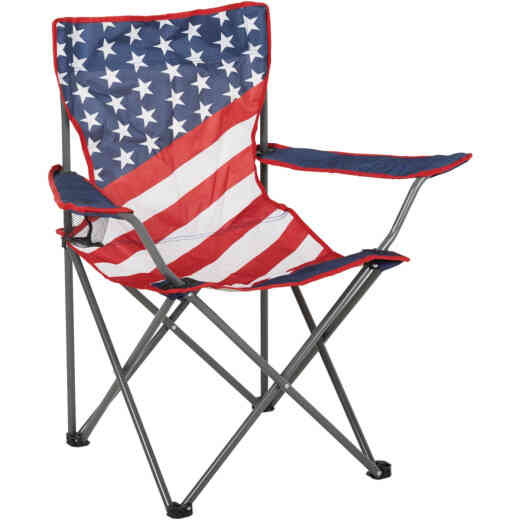 Outdoor Expressions Americana Folding Camp Chair