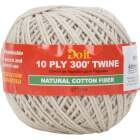Do it 10-Ply x 300 Ft. White Cotton Parcel Post Twine Image 1
